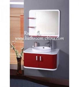 Mission bathroom vanity