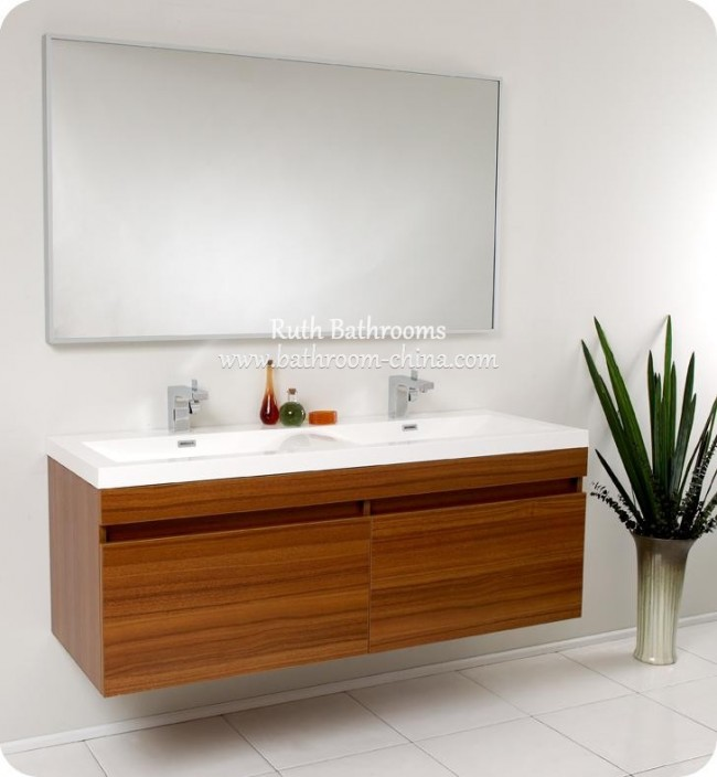 Bathroom Vanity Veneer wooden veneer vanities | china bath vanities manufacturer and