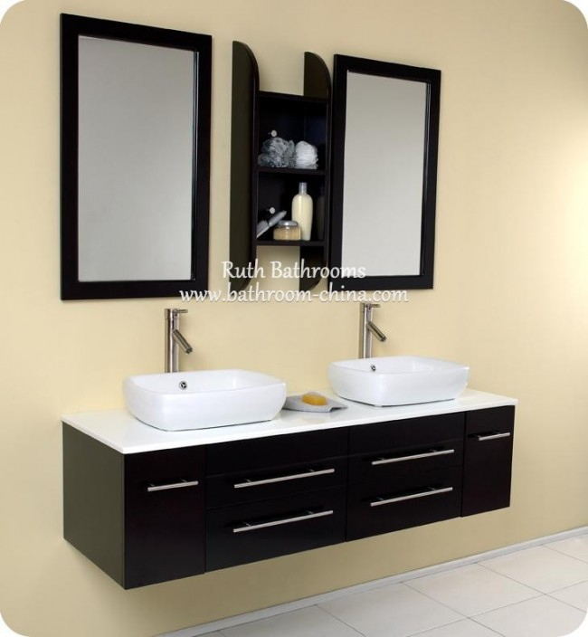 Double Sink Vanity Chinese Factory In