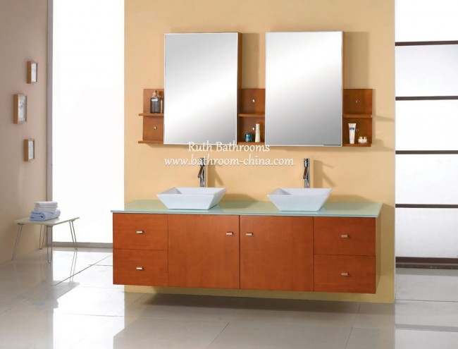 Double Vessel Sink vanity