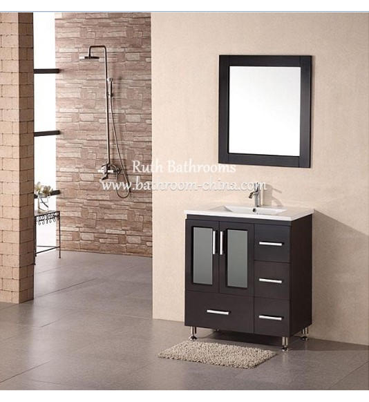 wood bathroom furniture