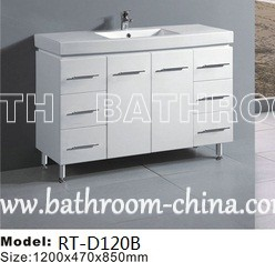 Square Ceramic Top Vanities