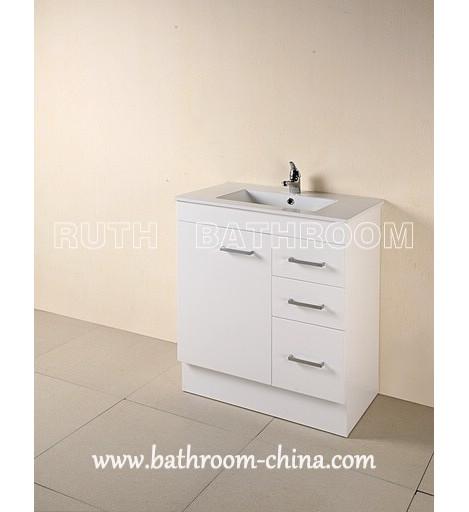 free standing bathroom vanities