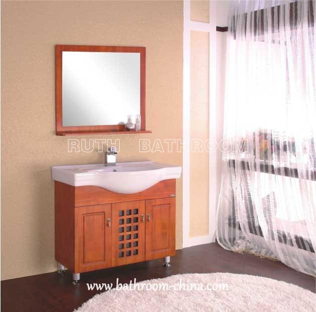 wood bathroom furniture