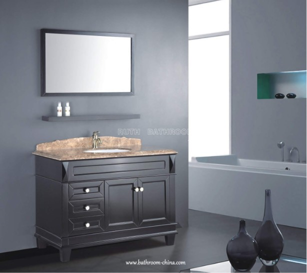 Transitional Bathroom Vanity