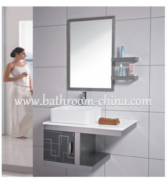 Stainless steel bathroom vanity china bath vanities Stainless steel bathroom vanities