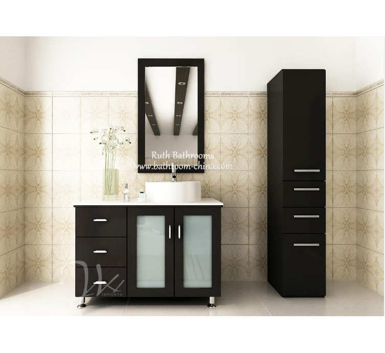 Modern Floor bathroom cabinet For USA