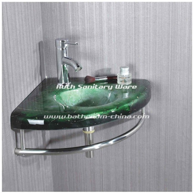 Glass Basin Cabinet | China bathroom vanities , bathroom vanity ...