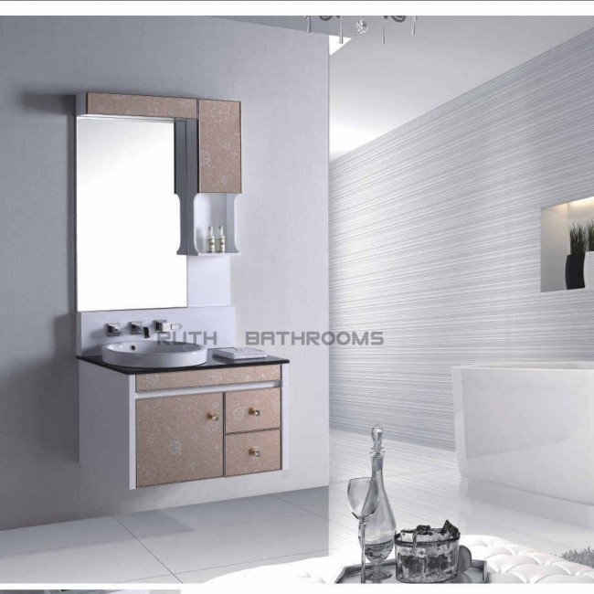 PVC cabinet Door with Glass RP-H6205