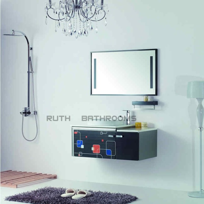supply stainless steel bathroom cabinet