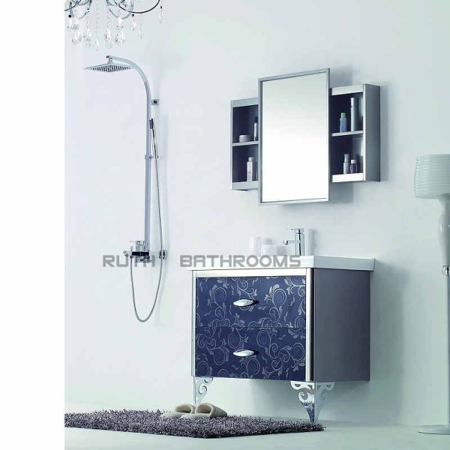 Supply Stainless Steel Bathroom Vanity Ryb636 90