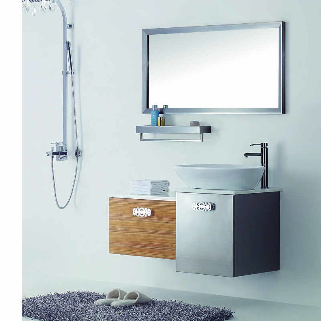 Stainless Steel Bathroom Vanity Manufacturer Ryb635 110