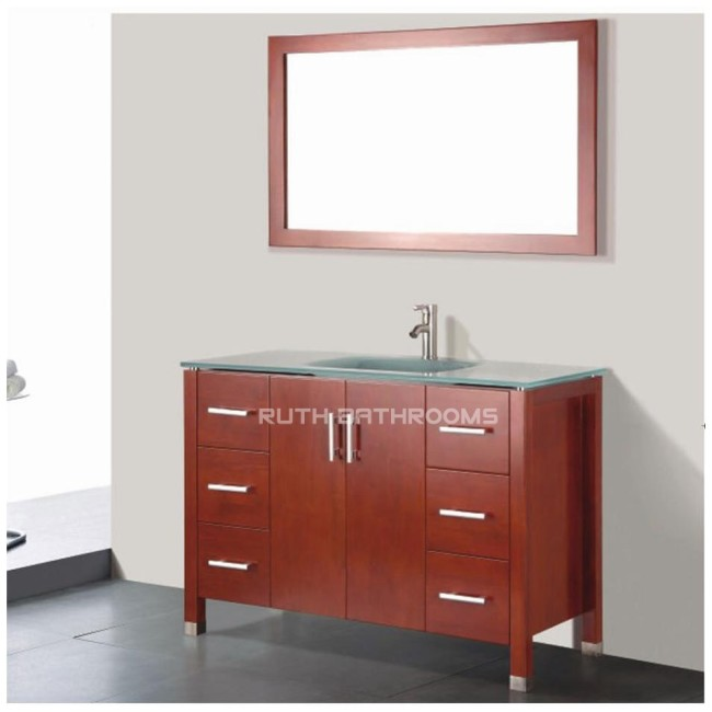 Glass basin cabinet ruth building is a manufacturer of Bathroom cabinet manufacturers