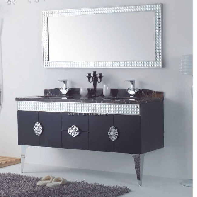 Stainless Steel Bathroom Furniture | China bath vanities ...