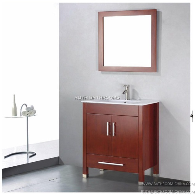 China Bathroom Cabinet Manufacturer North America Bathroom Vanity Factory Wood Bathroom Vanity