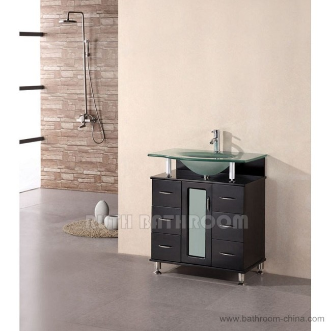 Single bathroom vanity RU113-30E