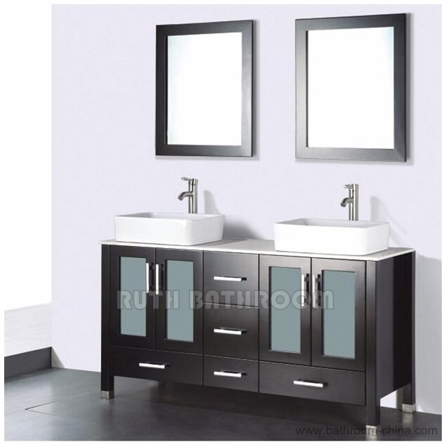 Double Vanity China factory. Professional China manufacturer in bathroom furniture   bathroom