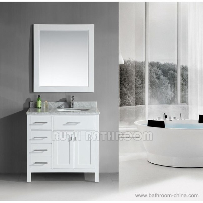 bathroom vanity with sinks RU305-36WR