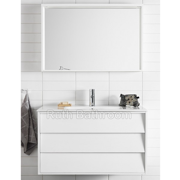 Name  China Modern White Basin Furniture A5071. china bathroom cabinets   Nordic style bathroom vanity   wall hung