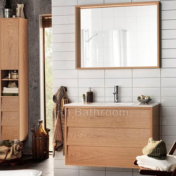 china bathroom cabinets , nordic style bathroom vanity , wall-hung Furniture Style Bathroom Vanity