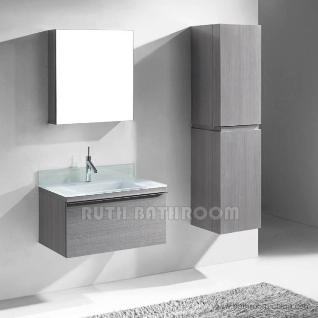 Wall mounted wall hang bath and vanity bathroom furniture