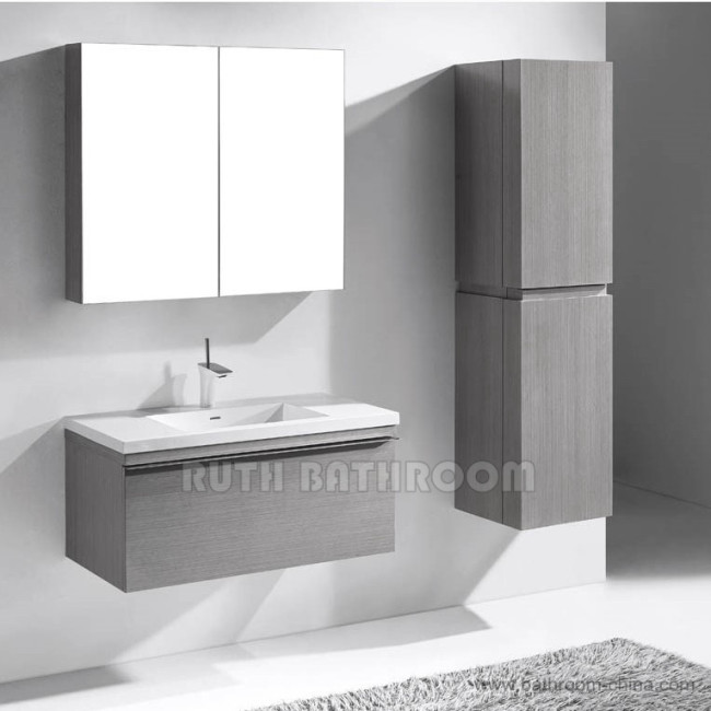 Wall mounted wall hang bath and vanity bathroom furniture A5114